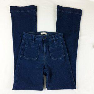 P6 Vintage 60's Wrangler High Rise Flare Jeans